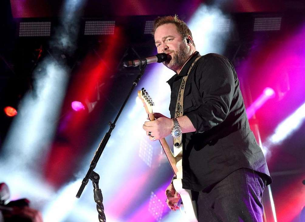 Musician Lee Brice performs during day 2 of