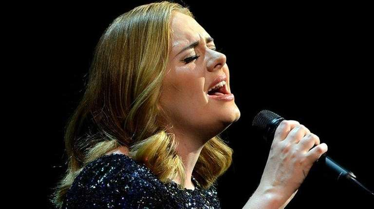 Adele performs at SportPaleis on June 12, 2016