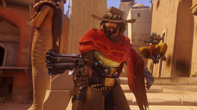 Overwatch, a shooter game, is especially good when