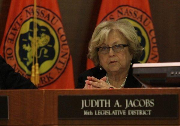 Nassau Legis. Judith Jacobs is seen in this