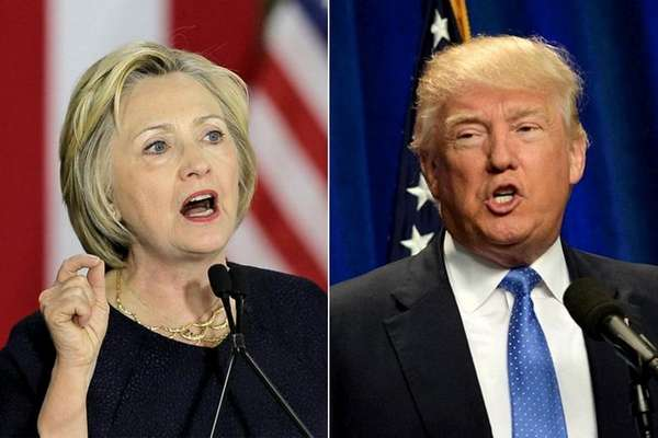Hillary Clinton and Donald Trump both spoke on
