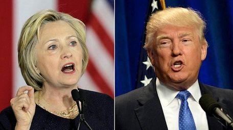Hillary Clinton and Donald Trump both spoke on