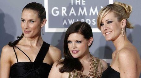 The Dixie Chicks -- Emily Strayer, left, Natalie
