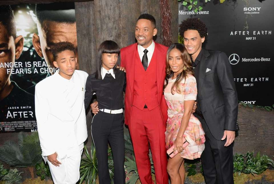 Will Smith and Jada Pinkett Smith have two
