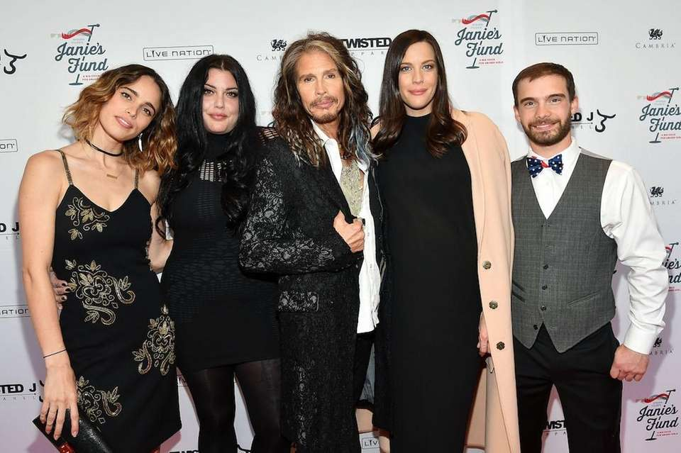 Aerosmith's Steven Tyler is father to Liv Tyler