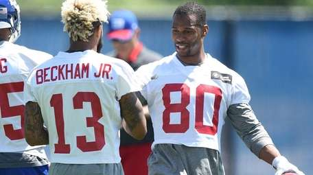 New York Giants wide receiver Odell Beckham and