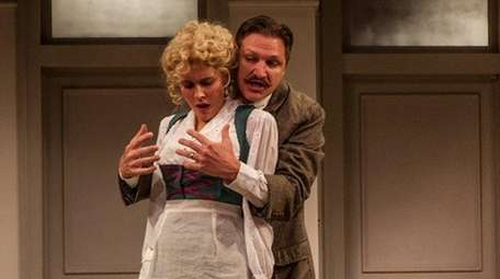 Marianna McClellan and Mark David Watson star in
