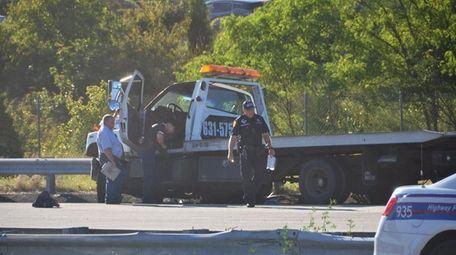 Suffolk police said Joseph Campanelli, 46, was driving