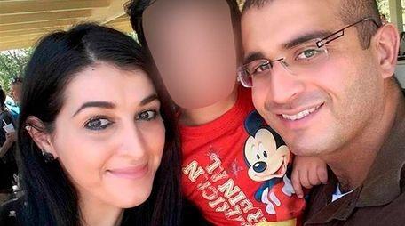 Noor Zahi Salman, left, is seen with Omar