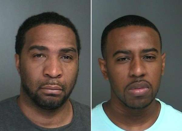 Pshawn Smith, left, and Leslie Harris were arrested