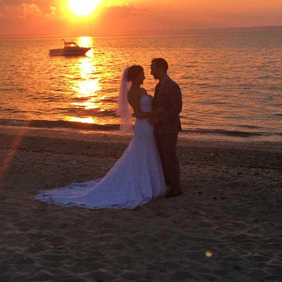 Krysta Lee Amato and Michael Amato, married on