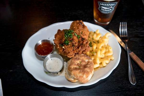 Southern fried chicken gets all the fixins with