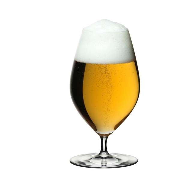 Riedel's Veritas beer glass.