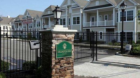Wellington Park Villas in Amityville on Aug. 5,