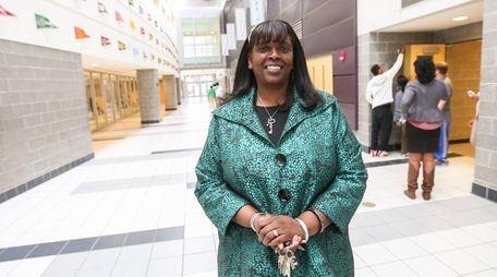 Roosevelt Union Free School District Superintendent Marnie Hazelton,