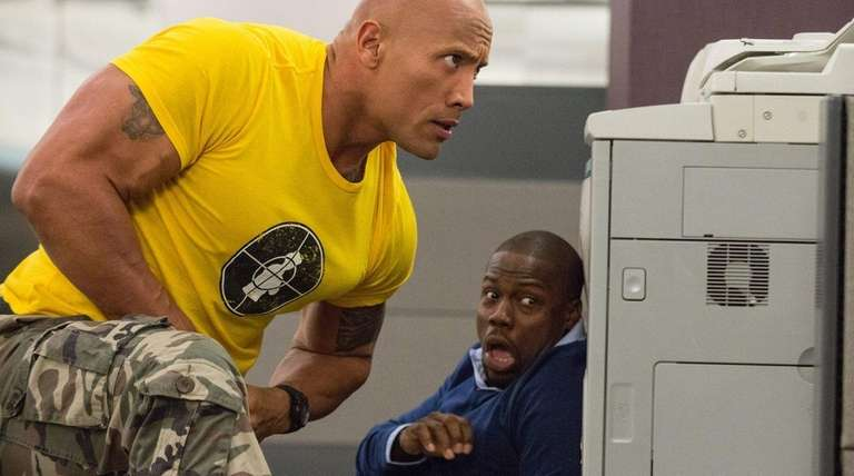 Dwayne Johnson flexes his comedic muscles with Kevin