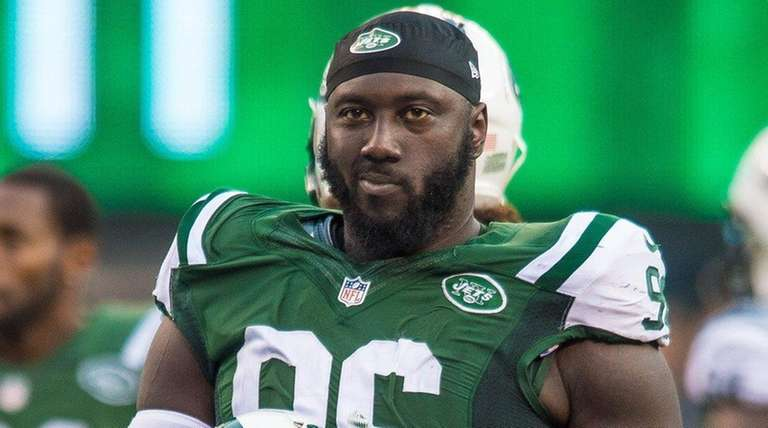 New York Jets defensive end Muhammad Wilkerson hasn't