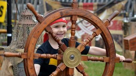Kids can become a pirate at the 7th
