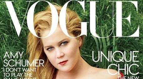 Amy Schumer covers the July edition of Vogue
