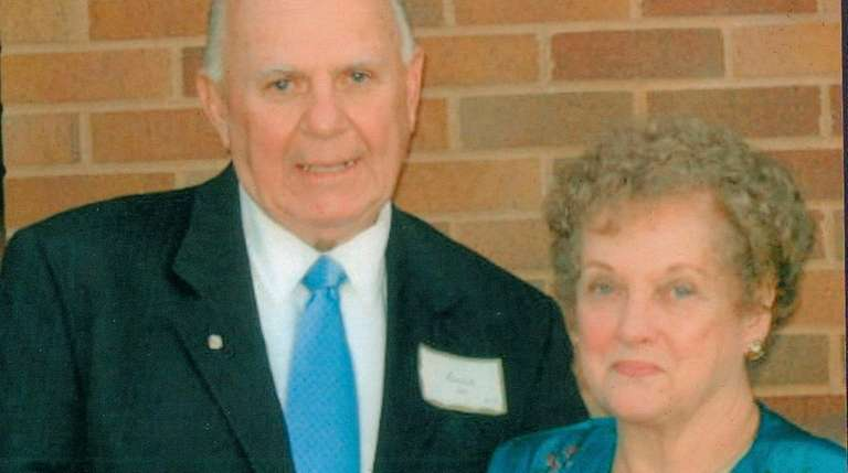 Irene and Bill Boyce of Levittown celebrated their