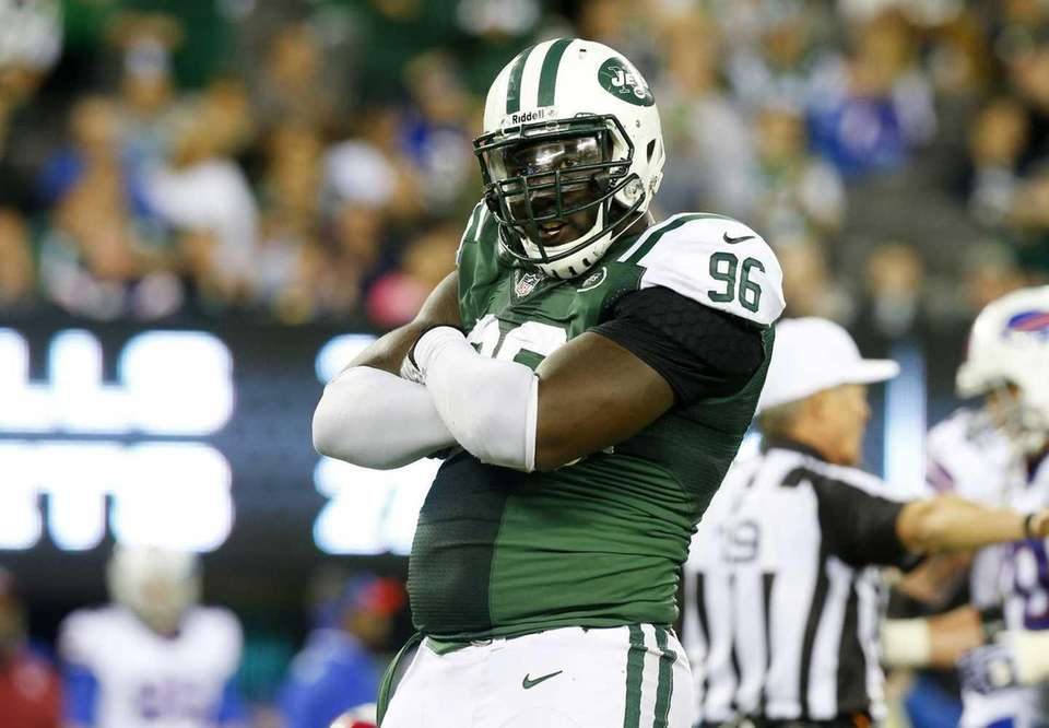 It appears as if Jets defensive end Muhammad