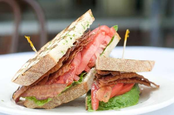 Silver's in Southampton serves a generously layered bacon,