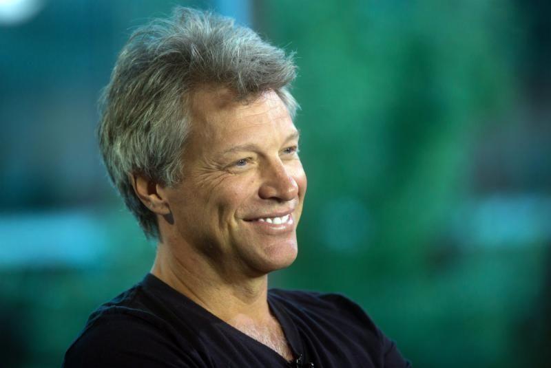 Musician Jon Bon Jovi and Dorothea Hurley, married