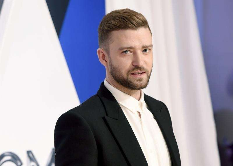 Singer Justin Timberlake and actress Jessica Biel have