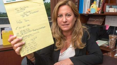 Garden City adoption lawyer Faith Rousso at her