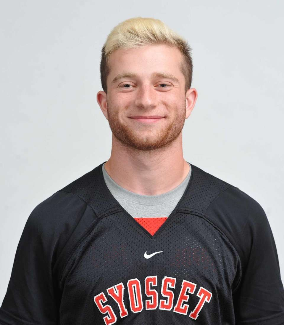 This All-American helped Syosset win the Nassau Class