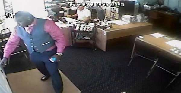 Nassau County police released a surveillance image of