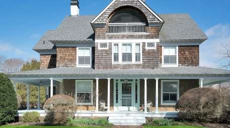 This Quogue home is called Slumberside for the