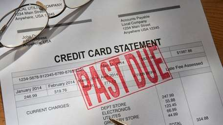 Credit Card Statement Past Due. Source iStockphoto by