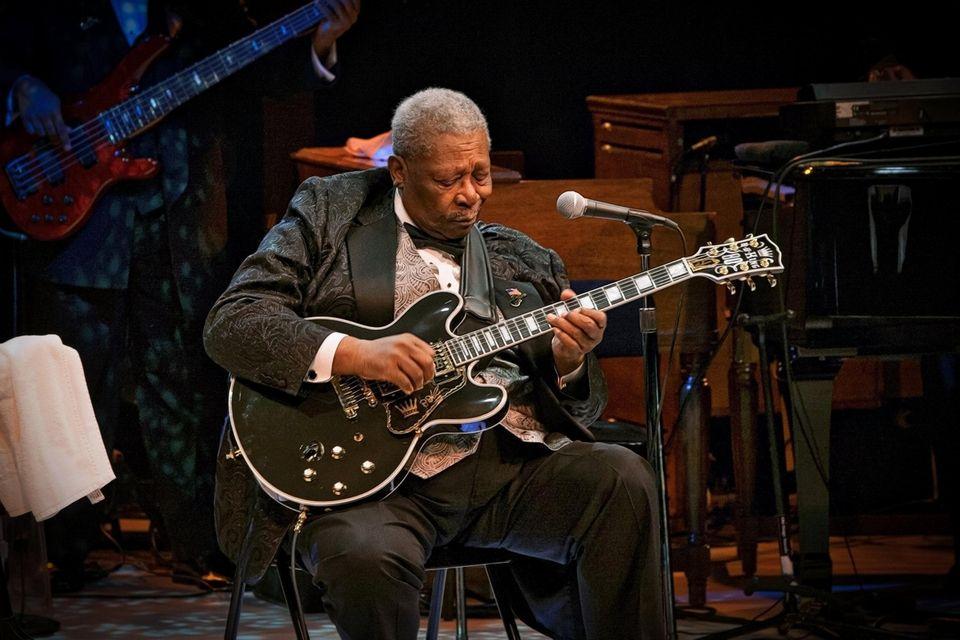 B.B. King performed at the NYCB Theatre at