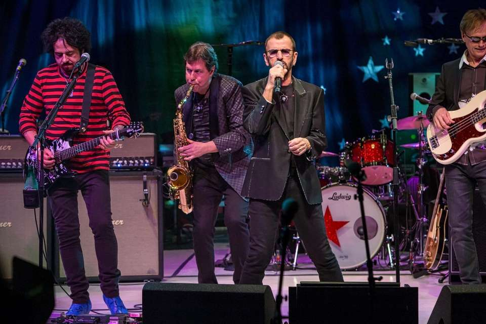 Ex-Beatle Ringo Starr brings his All-Starr Band to