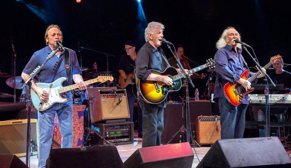 Crosby, Stills & Nash bring their harmonies to