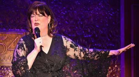 Ann Hampton Callaway performs in concert on the