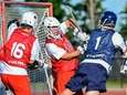 Nassau's Sam Brown (Long Beach) scores a goal