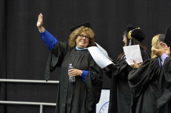 Joan Lorelli, principal of Division Avenue High School