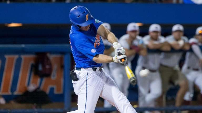 Mets' second-round pick Peter Alonso ripping it up in college