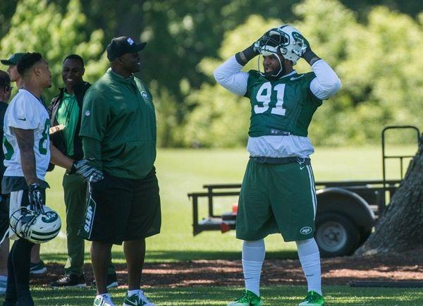 New York Jets head coach Todd Bowles talks