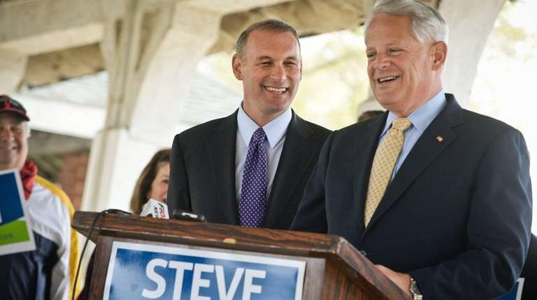 U.S. Rep. Steve Israel (D-Huntington) endorses Suffolk County