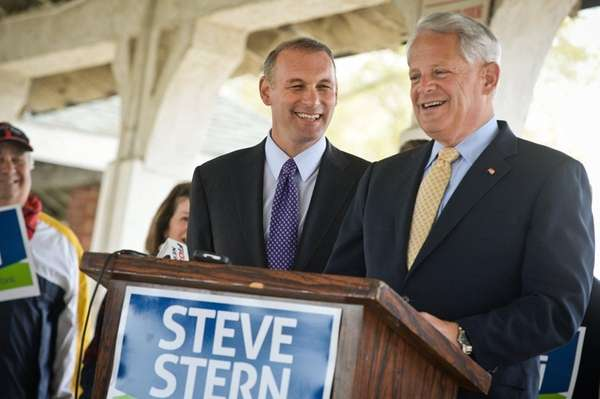 U.S. Rep. Steve Israel (D-Huntington) endorses Suffolk County
