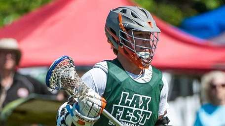 Laxfest rising sophomore from the Green team James