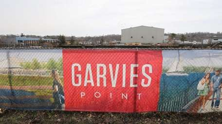 The Garvies Point waterfront redevelopment project site on