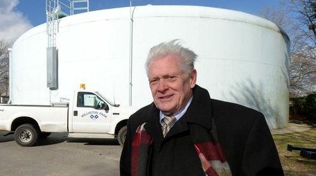 Williston Park Mayor Paul Ehrbar at the Williston