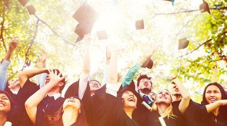 Diversity Students Graduation Success Celebration Concept. Source iStockphoto