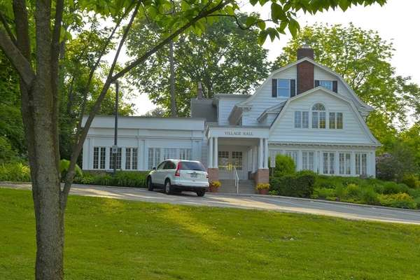 Village Hall of Great Neck Estates in the