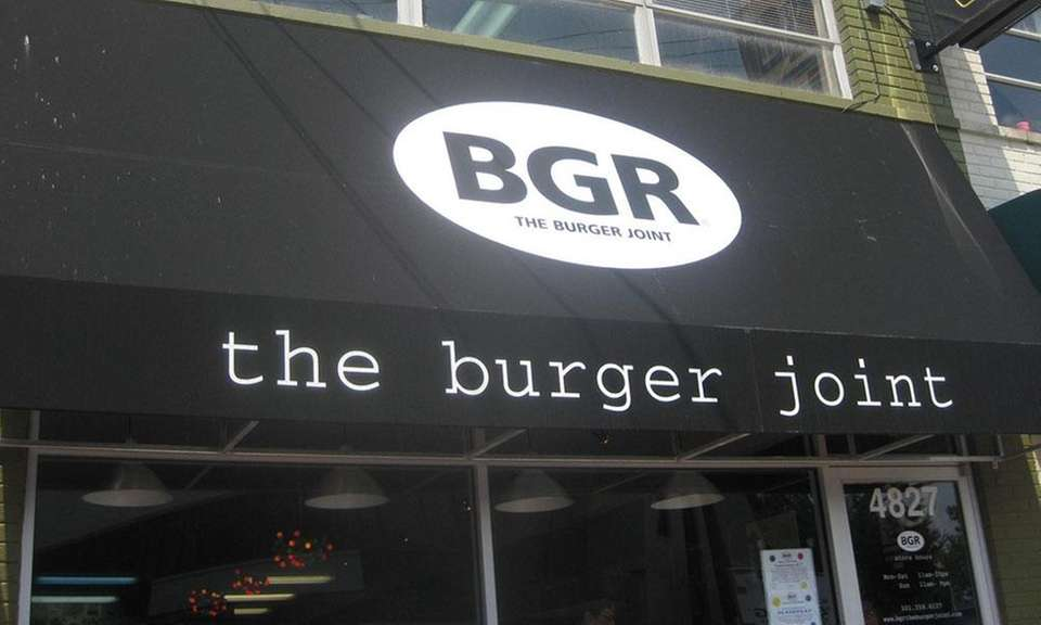 BGR: The Burger Joint is a chain that