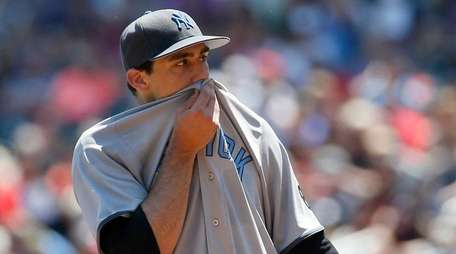 Nathan Eovaldi during the first inning of Yankees'